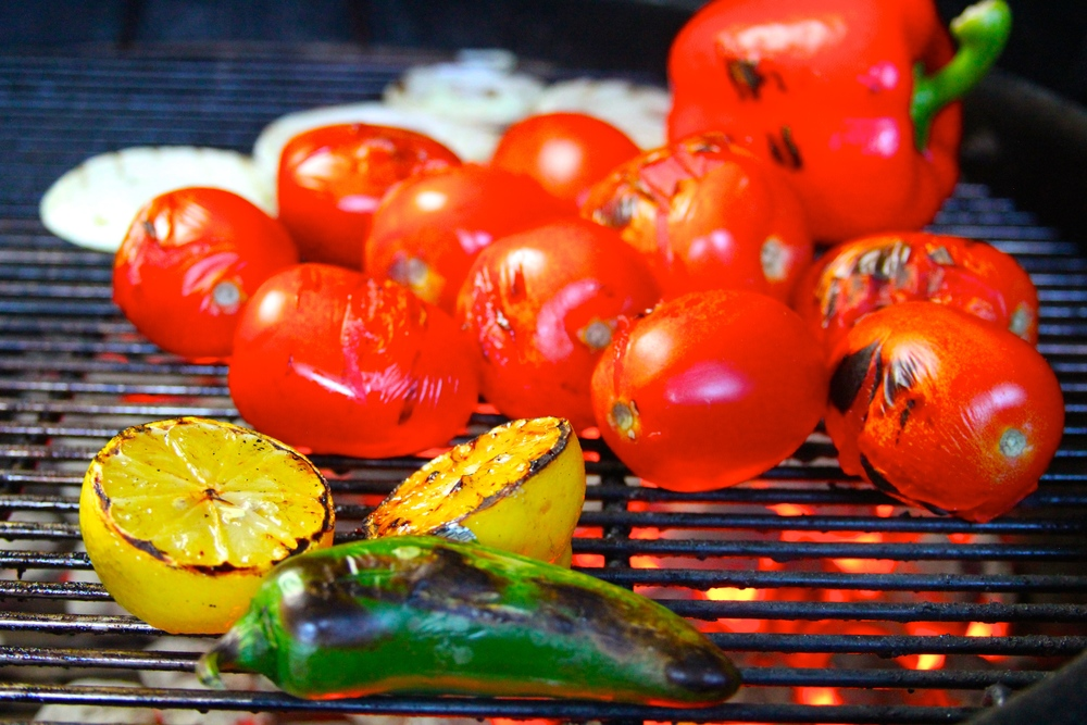 Grilled Fruits and Vegetables