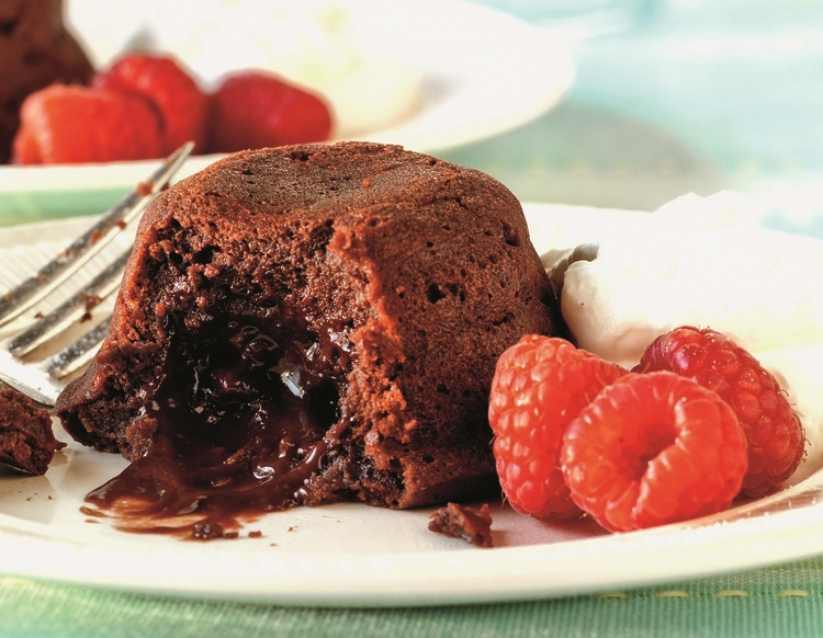 Warm Molten Chocolate Cake