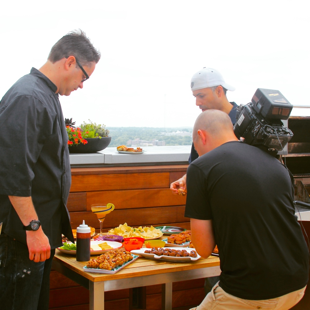 "Tailgate Grilling with Ali Nejad and HLN's ""The Daily Share"""