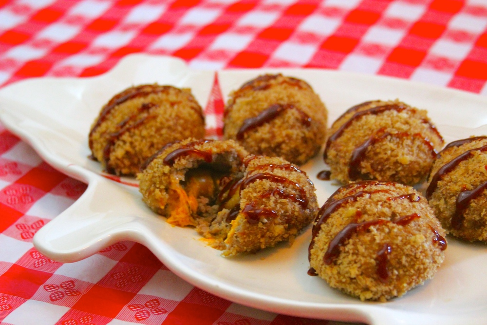 Grilled Hatch Chile Armadillo Eggs