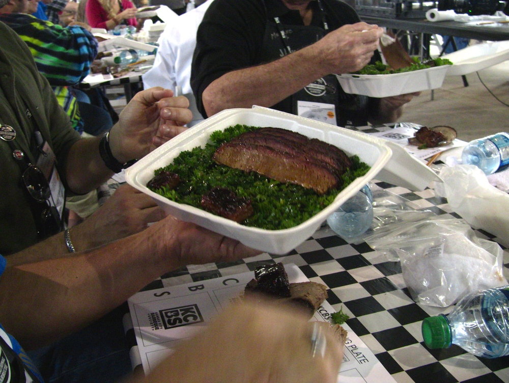 Brisket Turn-in Box to Be Judged