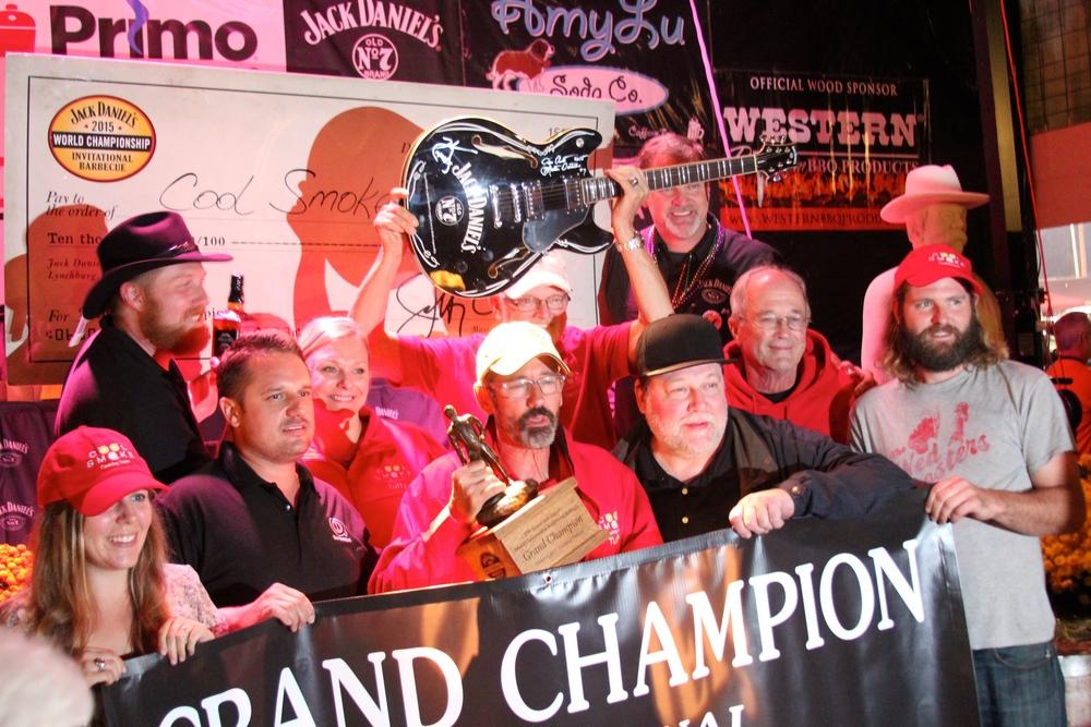Cool Smoke, Grand Champions
