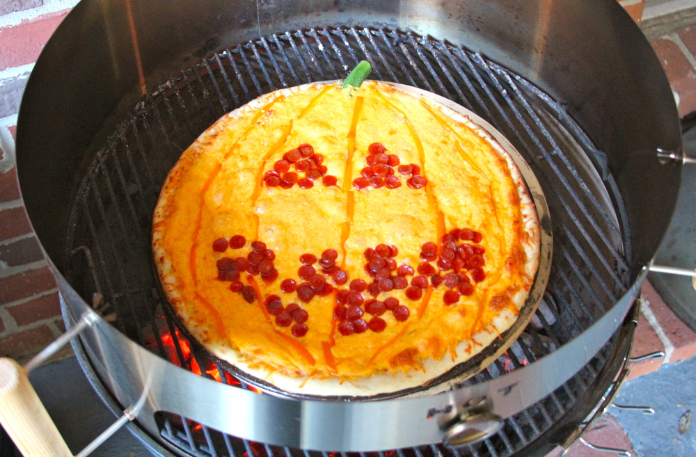 Grilled Pumpkin Pizza