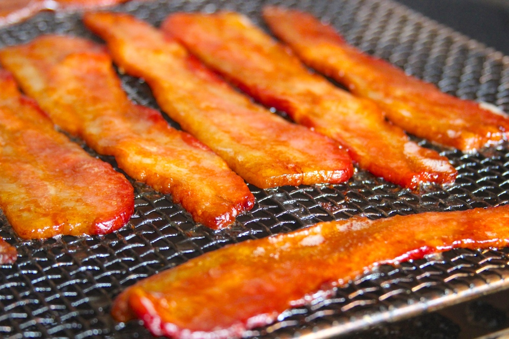 Grilled Candied Bacon