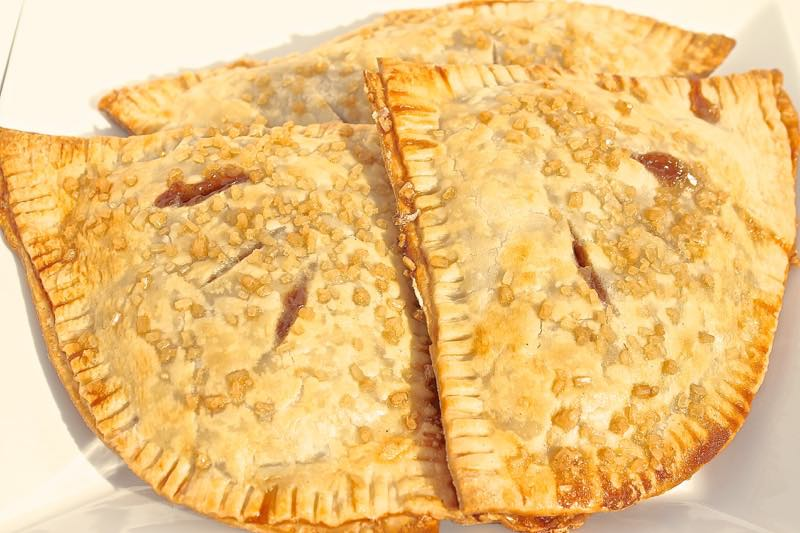 Grilled Apple Pies
