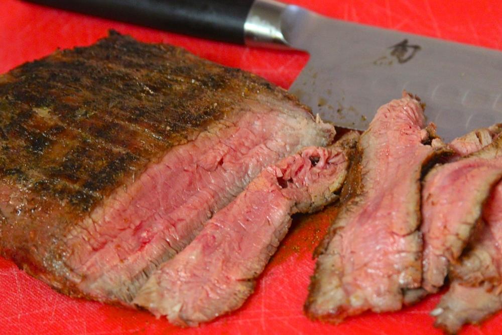 Slice Flank Steak