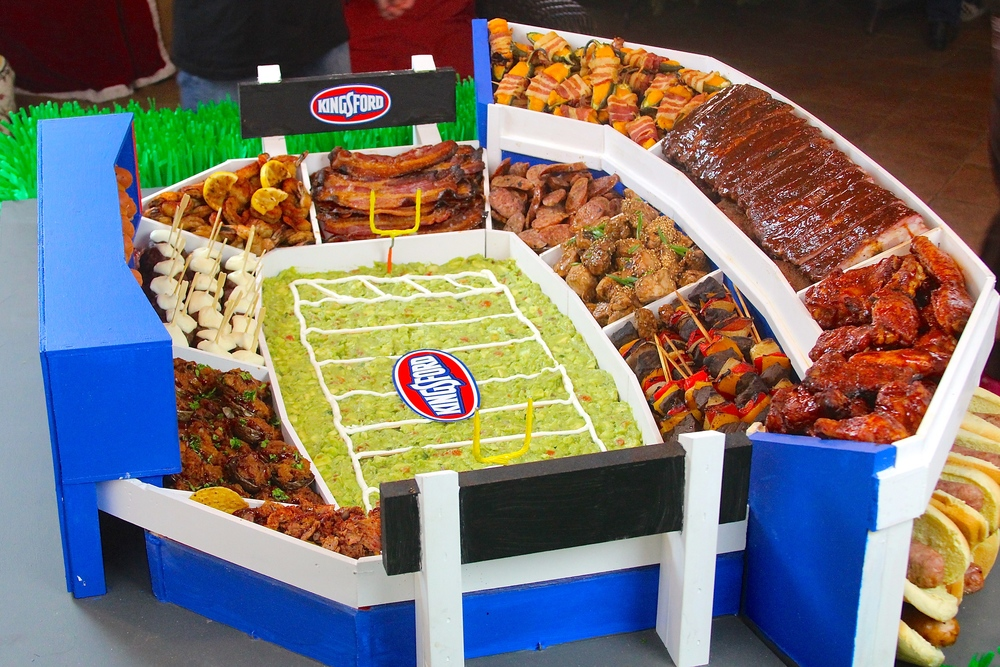 Super Bowl Snack Stadium