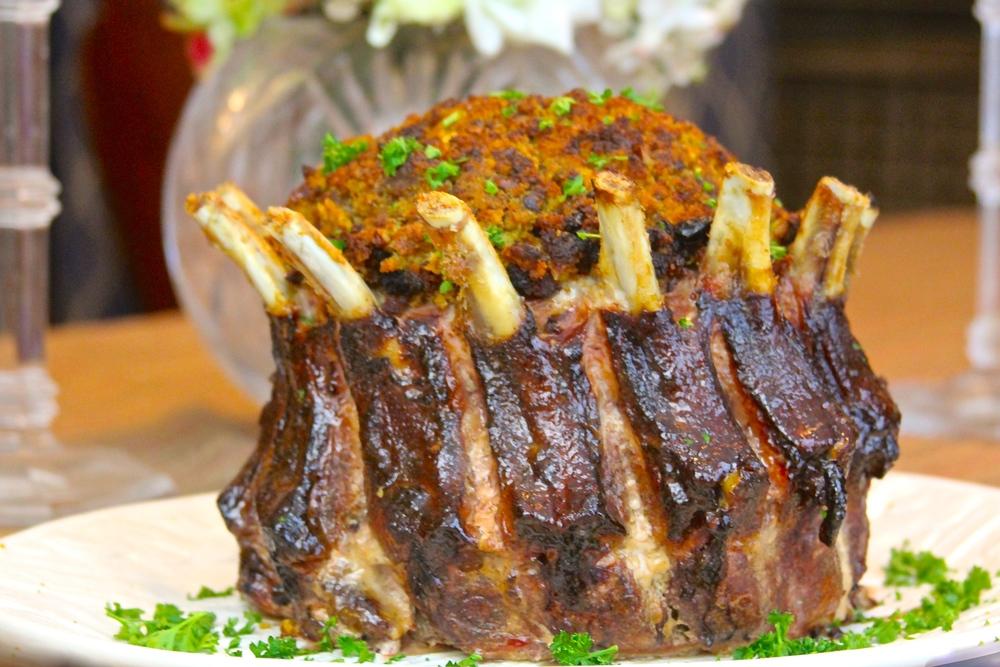 Snake River Farms Pork Crown Rib Roast