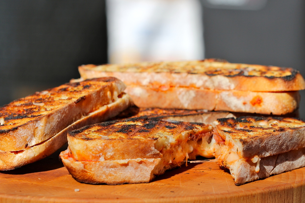 """Grilled"" Cheese Sandwiches"