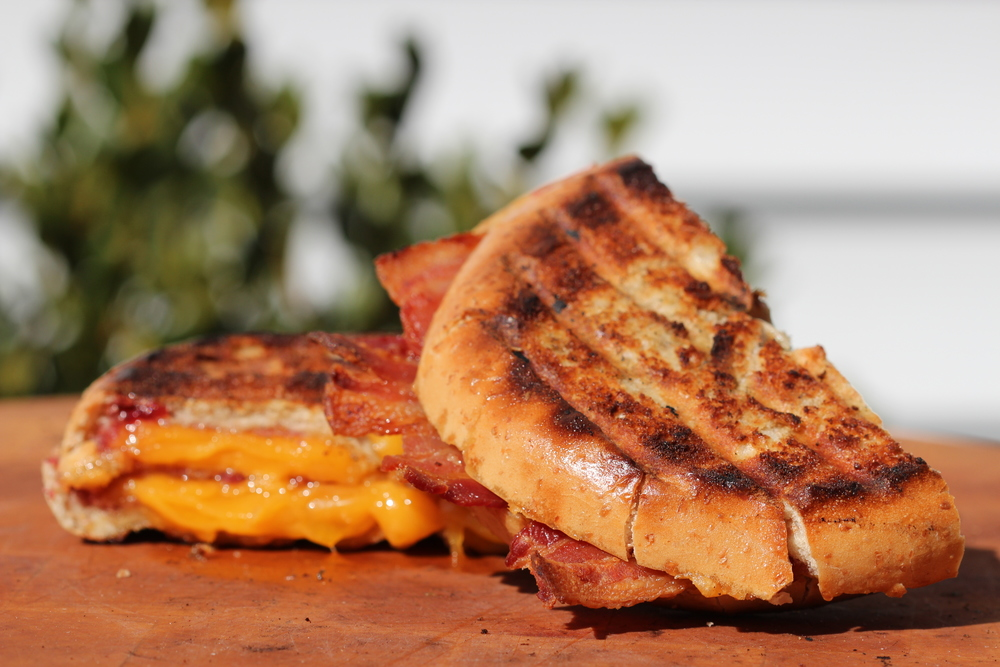 Breakfast Griller Grilled Cheese Sandwich