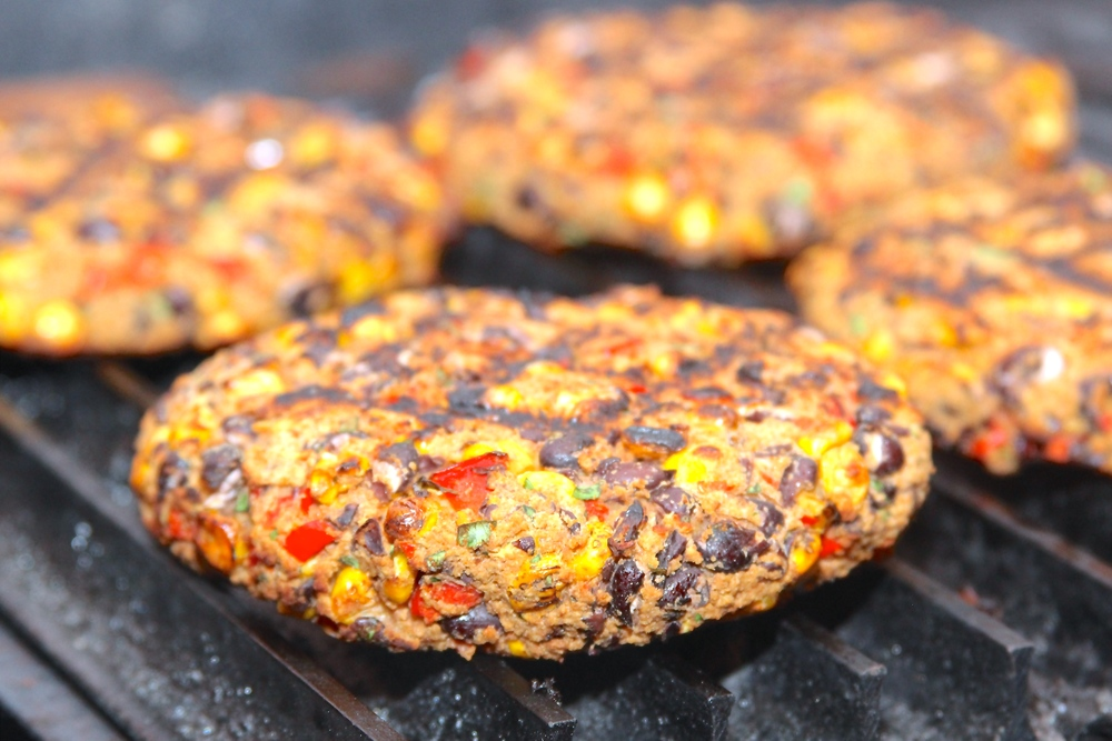 Grilling Vegetarian Burgers