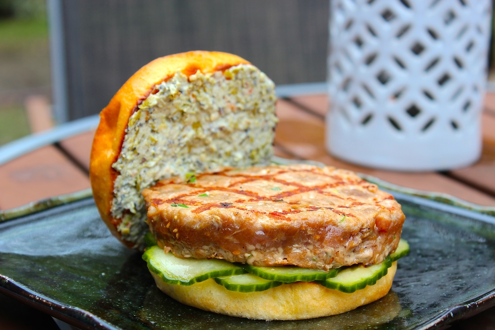 Grilled Asian Tuna Burger