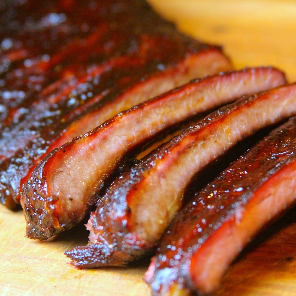 Award winning competition ribs