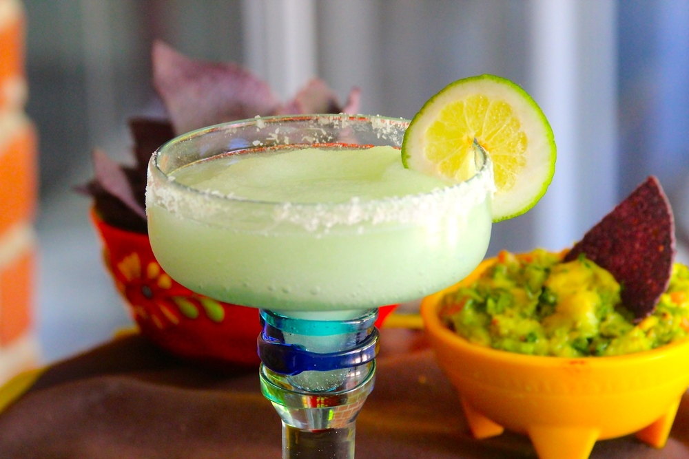 Grilled Lime Margaritas