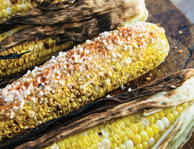 Grilled Mexican Street Corn