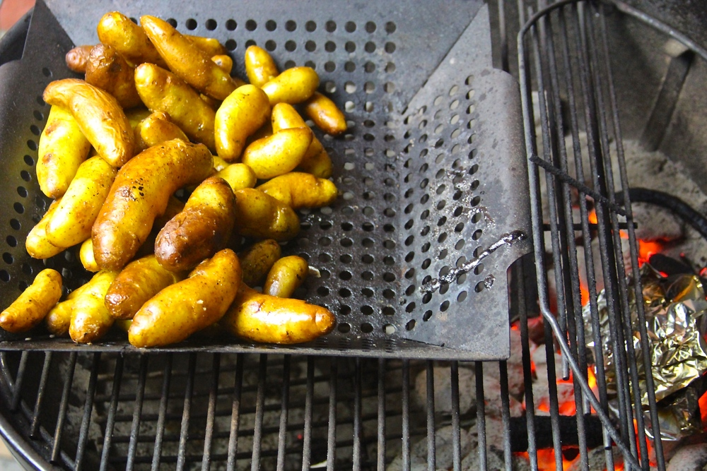 Sage Smoked Fingerling Potatoes