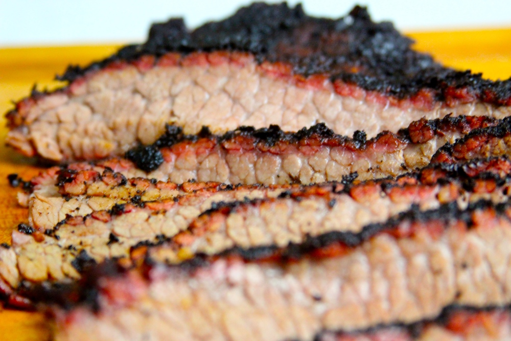 Sliced Brisket Point
