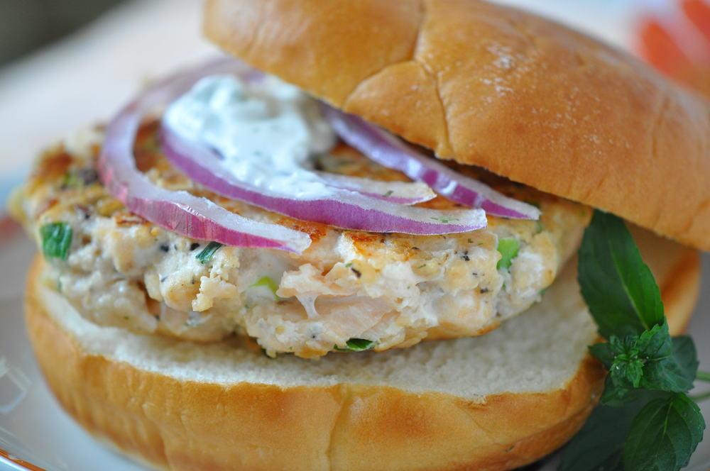Snappy Salmon Burger