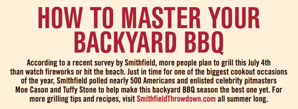 Mastering Your BBQ Skills Infographic