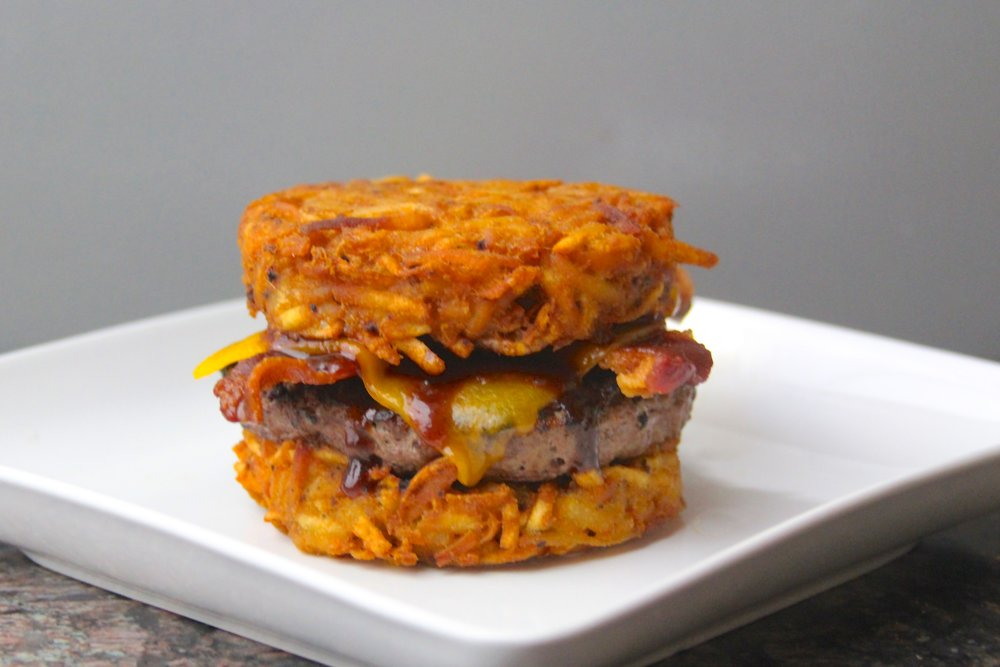 Hashbrown Bacon Cheeseburger