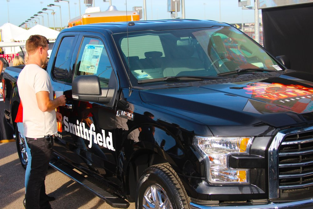 Smithfield Hog Wild Throwdown Ford F-150