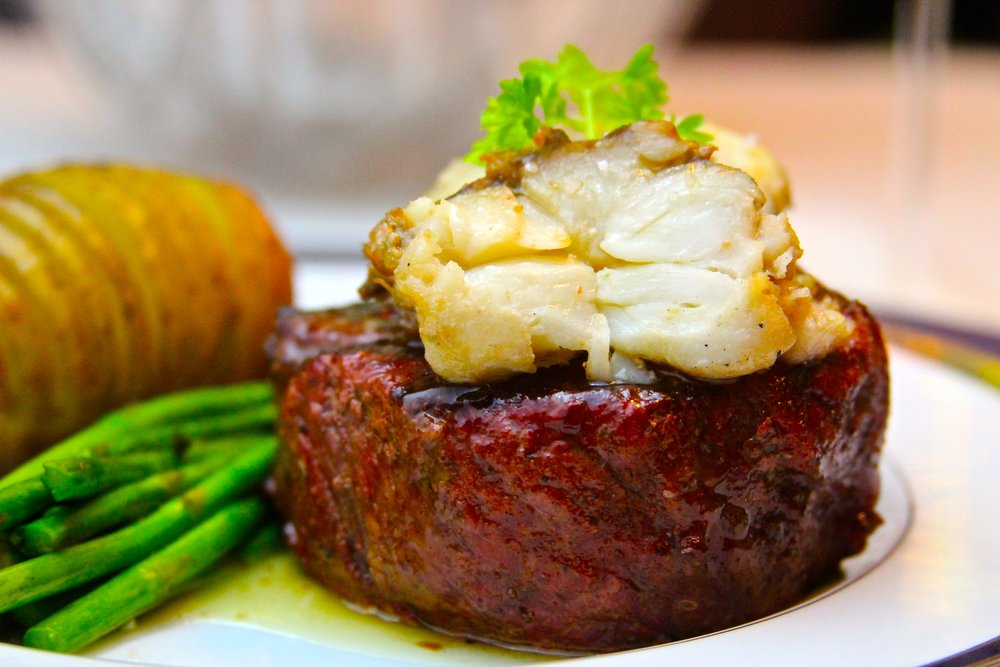 Beef Filet with Poached Lobster