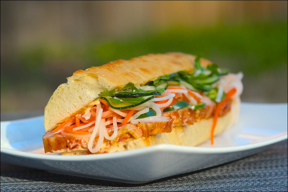 Applewood Smoked Bacon Pork Loin Bahn Mi