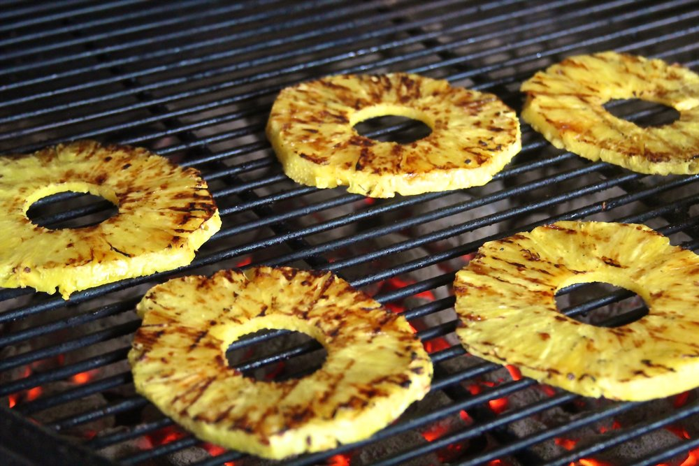 Charred Pineapple