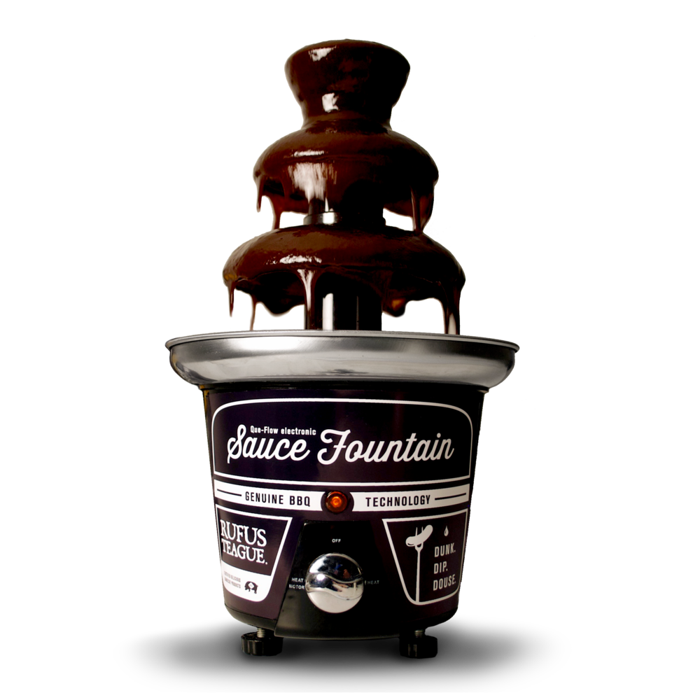 Rufus Teague BBQ Sauce Fountain