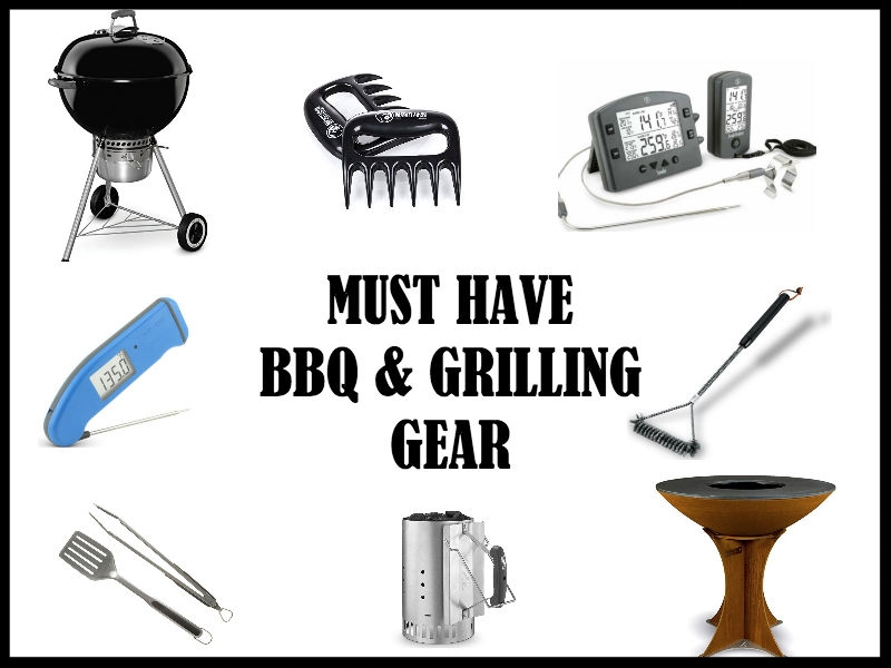 Must Have Grilling Gear