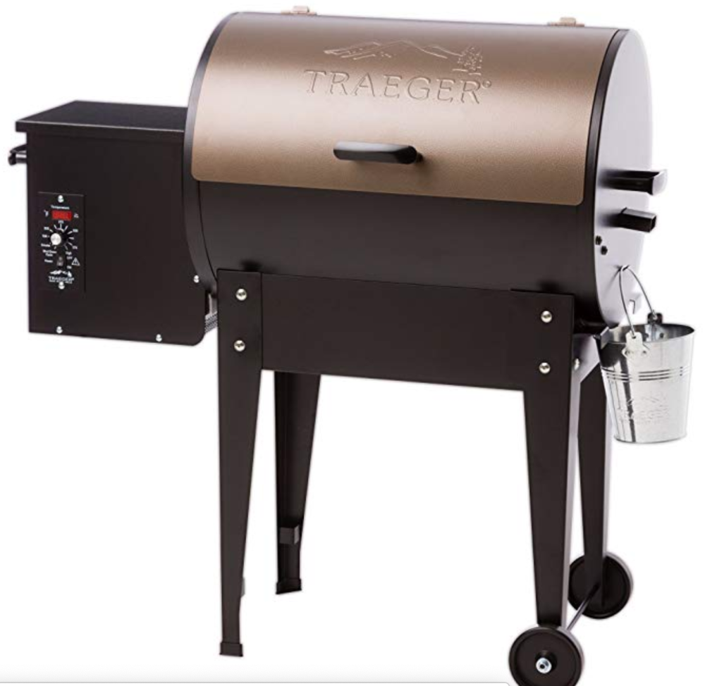 TRAEGER JUNIOR ELITE PELLET SMOKER AND GRILL -