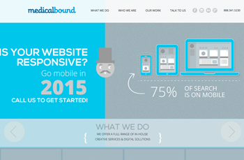 Medical Bound    Web Design |   20  15