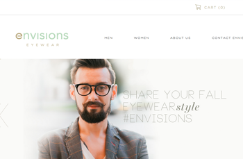Envisions  E-commerce    Web Design |   20  14