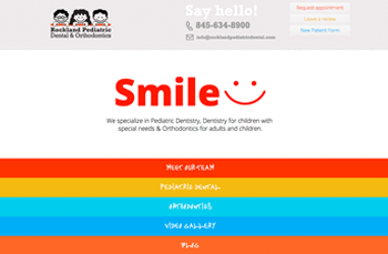 Rockland Pediatric Dental     Web Design |   20  14