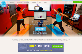 Joyful Breath Yoga   Web Design |   20  13