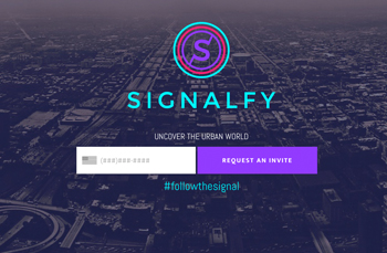 SIGNALFY  WEBSITE  | 2015