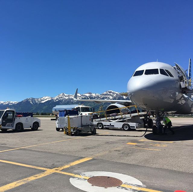 The most beautiful airport in the world is in Wyoming!