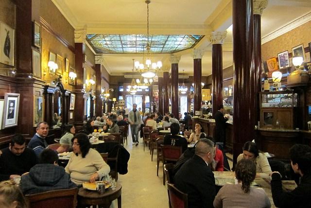 Café culture in Buenos Aires