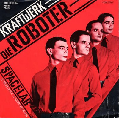 Kraftwerk, man machine