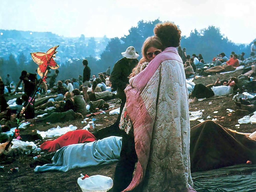Woodstock and the Hippie social movement