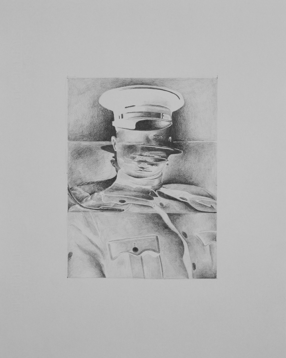 P-01 , pencil on archival paper, 2011