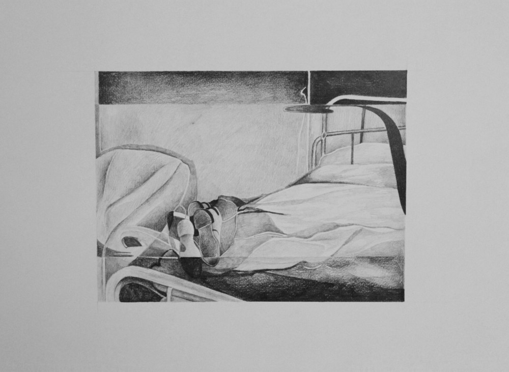 B-01 , pencil on archival paper, 2011