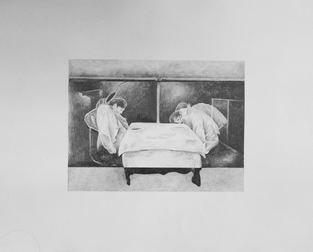 T-01 , pencil on archival paper, 2011