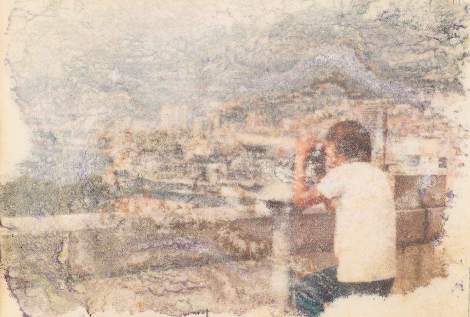 La vue   C-print on Hahnemuhle paper  27x40 cm  2016