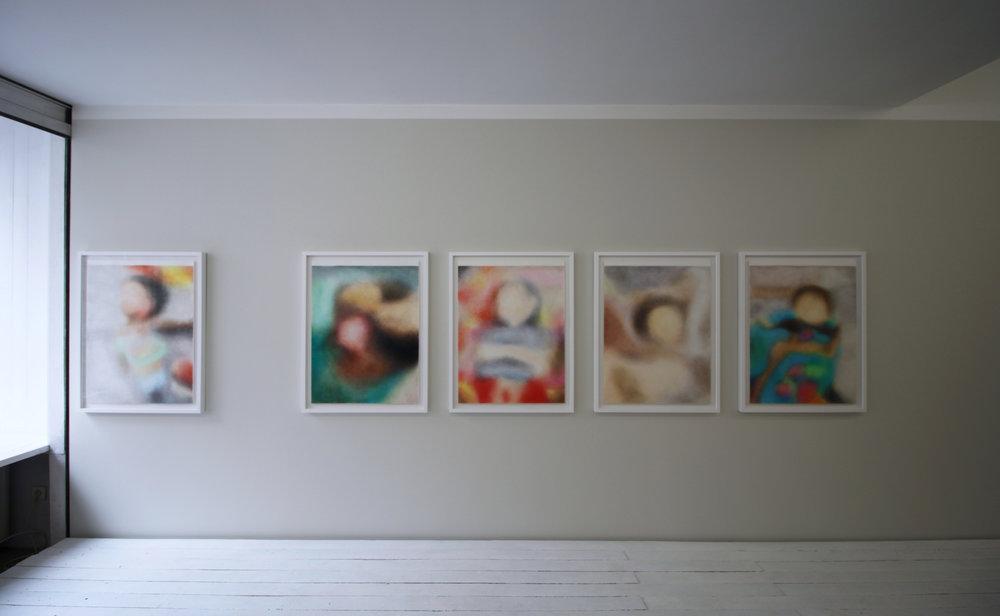 """Exhibition view  """"Sous L'image"""" , 17.02 - 01.04.2018, Galerie Les Drapiers, Liège, Belgium"""