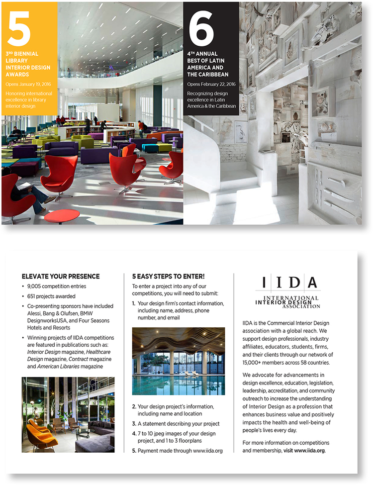IIDA Direct Mail 3