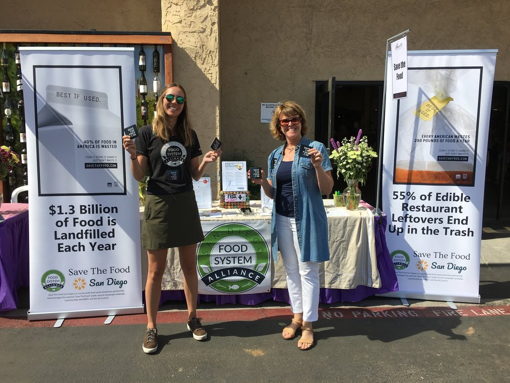 Geertje Grootenhuis and Barbara Hamilton, San Diego Food System Alliance