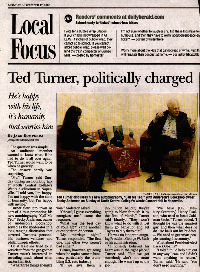 Interview with Ted Turner