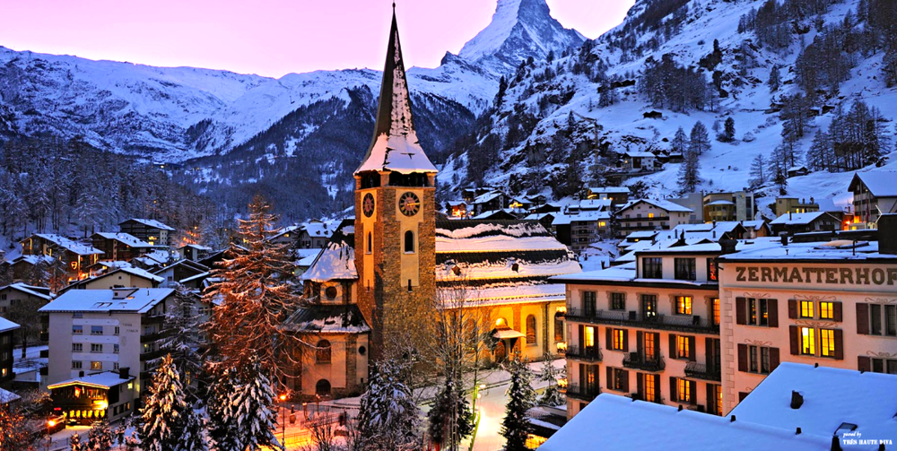 Zermatt at Night