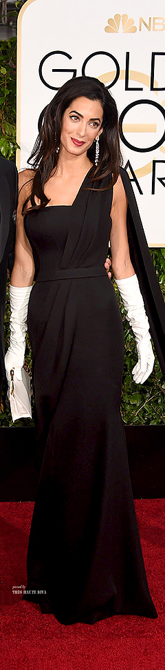 Amal Clooney in Christian Dior